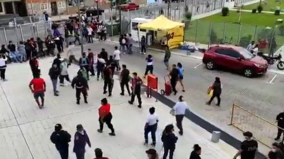 Incidentes en el Ministerio deDesarrollo Caba 20210422