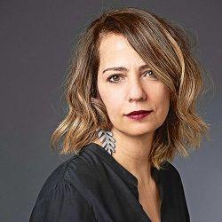 Alexandra Kohan sobre el feminismo y Viviana Canosa. | Foto:Cedoc.