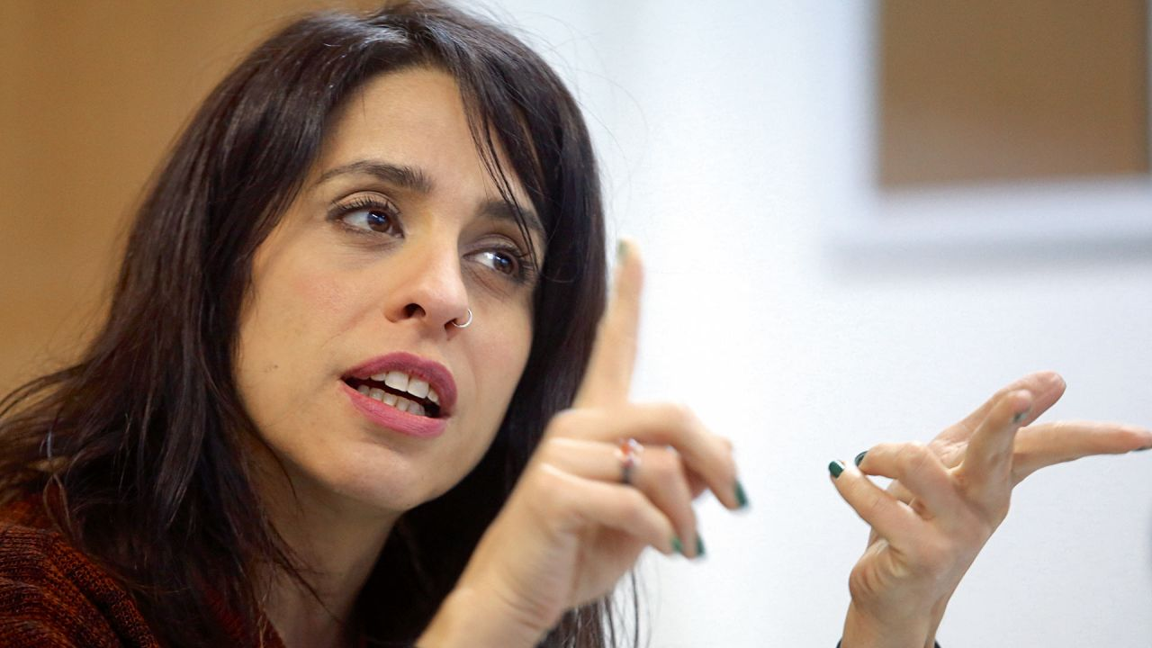 Victoria Donda, la titular del Inadi, habla de la tapa de NOTICIAS   Foto:Cedoc.