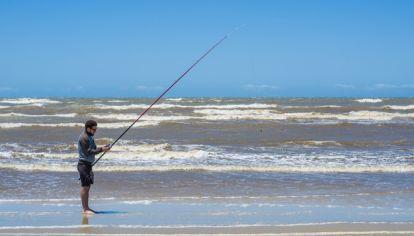 Pesca en playa