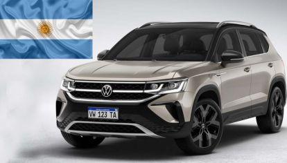 Volkswagen inicia la producción del nuevo Taos argentino