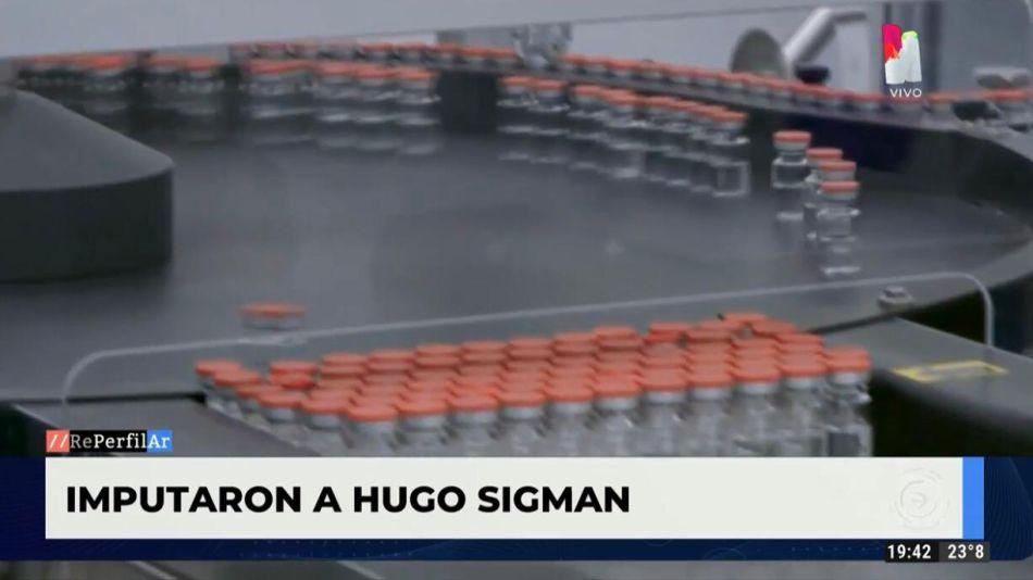 Imputaron a Hugo Sigman