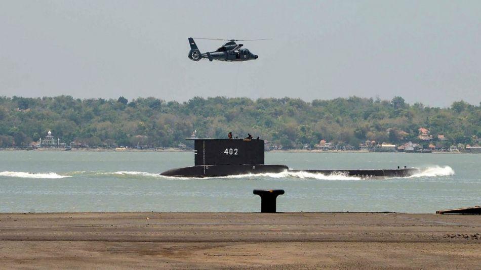 Indonesia Búsqueda Submarino