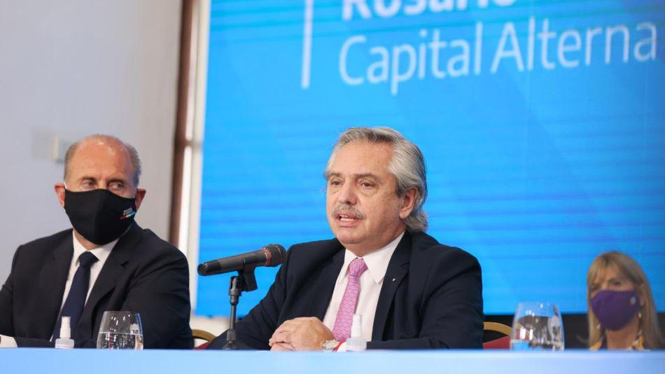 Reunión de Gabinete federal en Rosario 20210423