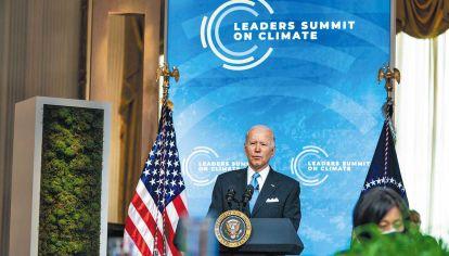 Cumbre. Convocó a líderes mundiales para coordinar esfuerzos climáticos. Defiende los beneficios económicos de las nuevas energías.