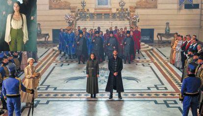 Relatos. La producción implicó un despliegue gigante, al estilo de la que se llevó a cabo para la serie The Witcher.