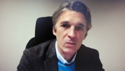Nicolas Bourriaud, en la entrevista con Jorge Fontevecchia.