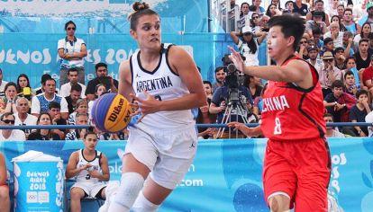 Florencia Chagas, en la NBA femenina. Ejemplo de la lucha y la soledad para llegar.