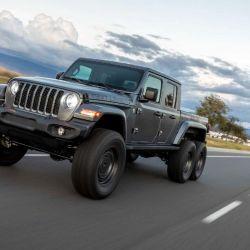 Realizado por la compañía estadounidense Next Level, la pick-up no solo destaca por sus 3 ejes.