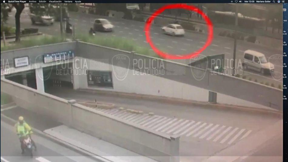 Automovilista que evade control policial 20210427