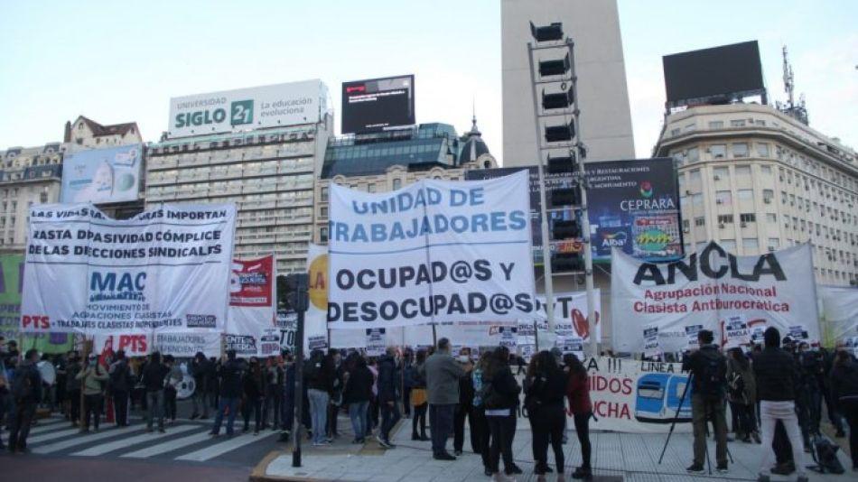 protesta en el Obelisco 20210427