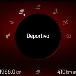 Este modo aumenta la respuesta del pedal del acelerador y proporciona una sensación de manejo más deportiva.