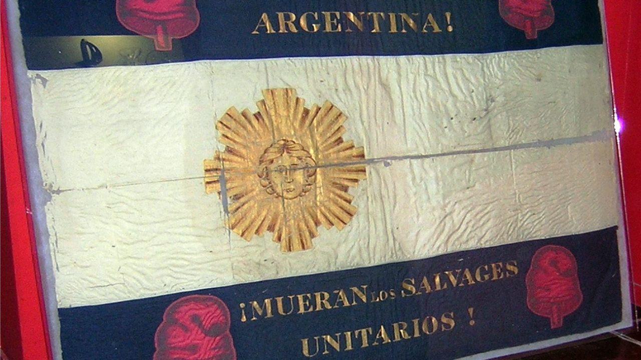 Bandera de la Confederación Argentina | Foto:CEDOC