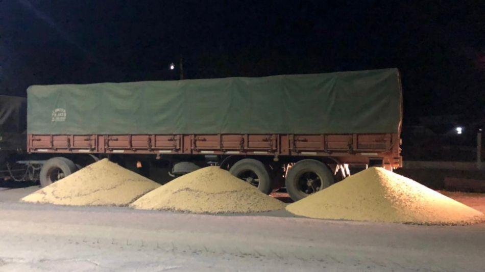 Bloqueo de camioneros en Tucumán