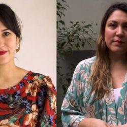 Melanie Tobal y Cintia González Oviedo, las ideólogas del proyecto.