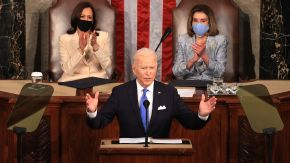 President Biden Delivers First Address To Joint Session Of Congress