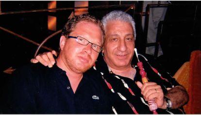 Ignacio Purcell Mena con Monzer Al Kassar, en el despacho de este último en España