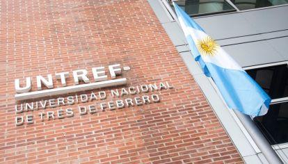 Fachada de la Universidad Nacional de Tres de Febrero (UNTREF)
