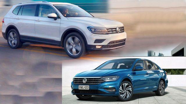 Volkswagen Vento y Tiguan