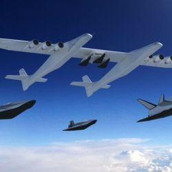 Según sus creadores, el Roc será utilizado en el futuro como una plataforma de lanzamiento de vehículos hipersónicos.