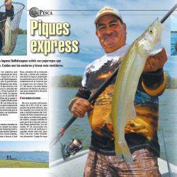 Seguimos buscando los mejores lugares para ir a pescar.