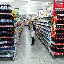 Mercado de bebidas sin alcohol   Foto:Obregón