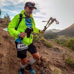 """Pablo """"Toto"""" Berisso, el cronista de NOTICIAS que relata su experiencia.   Foto:Gentileza Patagonia Run / Fotos de Aventura"""