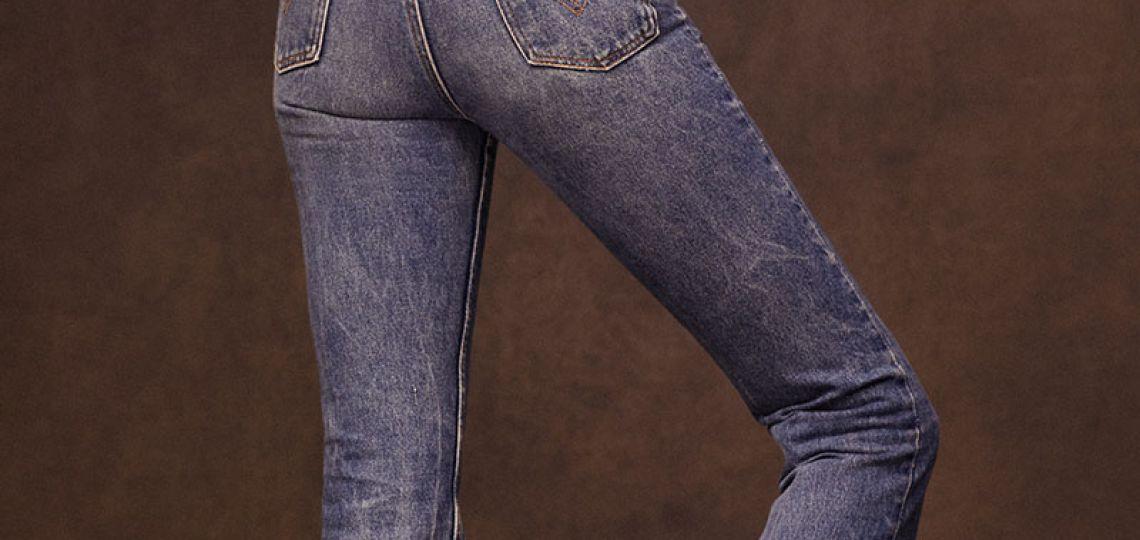 Los jeans de Valentino que reviven los mágicos 70