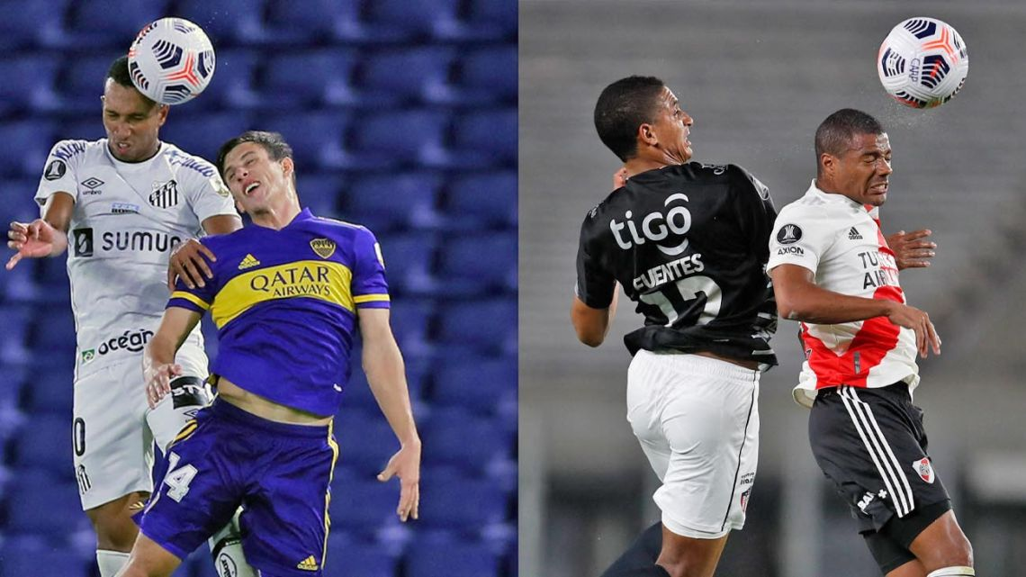 Argentine sides in Copa Libertadores