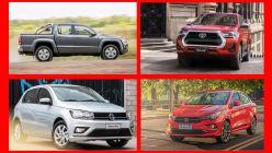 Los 20 autos más vendidos de abril