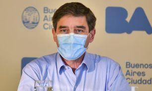 Fernán Quirós, ministro de Salud de la Ciudad.