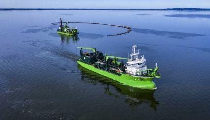 La compañía belga DEME Group participará de la licitación de la Hidrovía del Paraná-Paraguay