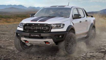Ford presentó la nueva Ranger Raptor X