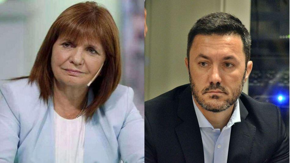 Patricia Bullrich y Luis Petri 20210430
