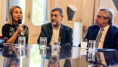 REUNIÓN PARA ARMADO. El senador Carlos Caserio y los diputados, Eduardo Fernández, Gabriela Estévez y Pablo Carro se reunirán con Alberto Fernández.