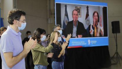 MODO CAMPAÑA. Schiaretti, Vigo, Natalia de la Sota y Jure, la mesa rumbo a las Legislativas.