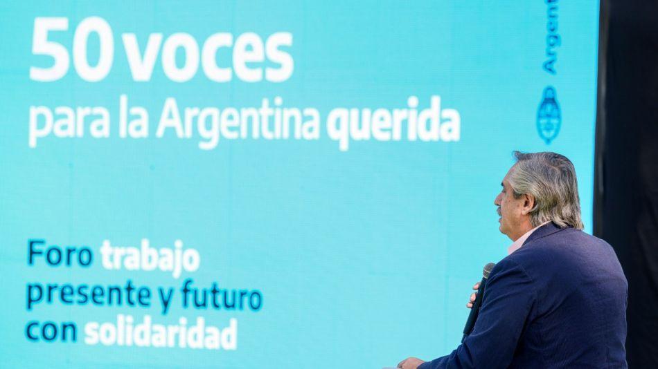 Alberto Fernández dia del trabajo g_20210501