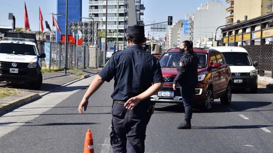 Exhaustivos controles ante las nuevas restricciones. Accesos a Provincia de Buenos Aires.