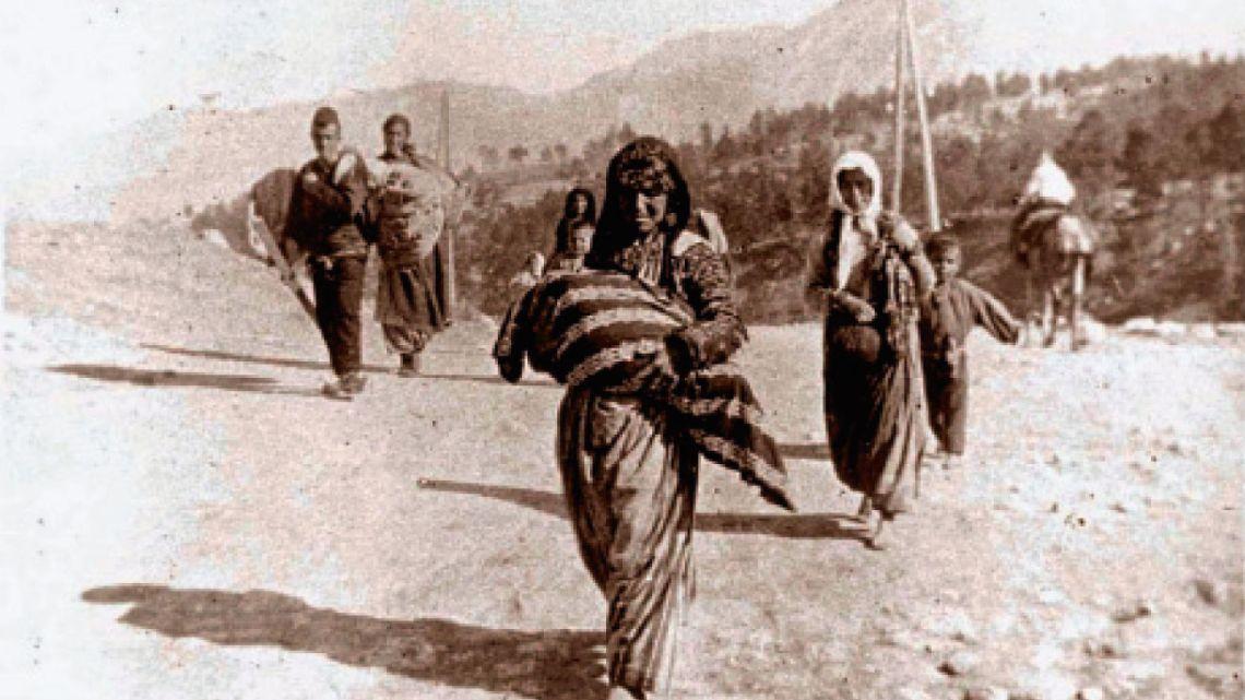 El genocidio armenio y la historia