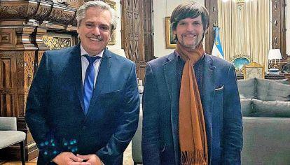 Confianza. Fernández ponderó alguna vez el trato sin intermediarios que tiene con Vaca Narvaja.