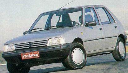 Así probábamos el Peugeot 205 GLD (luego lo sorteamos)
