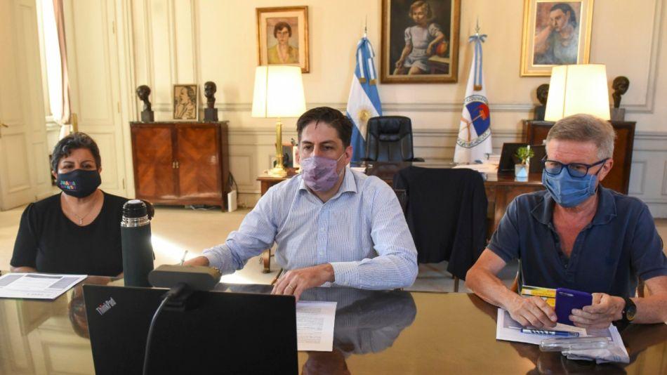 Nicolás Trotta Conferencia de Prensa