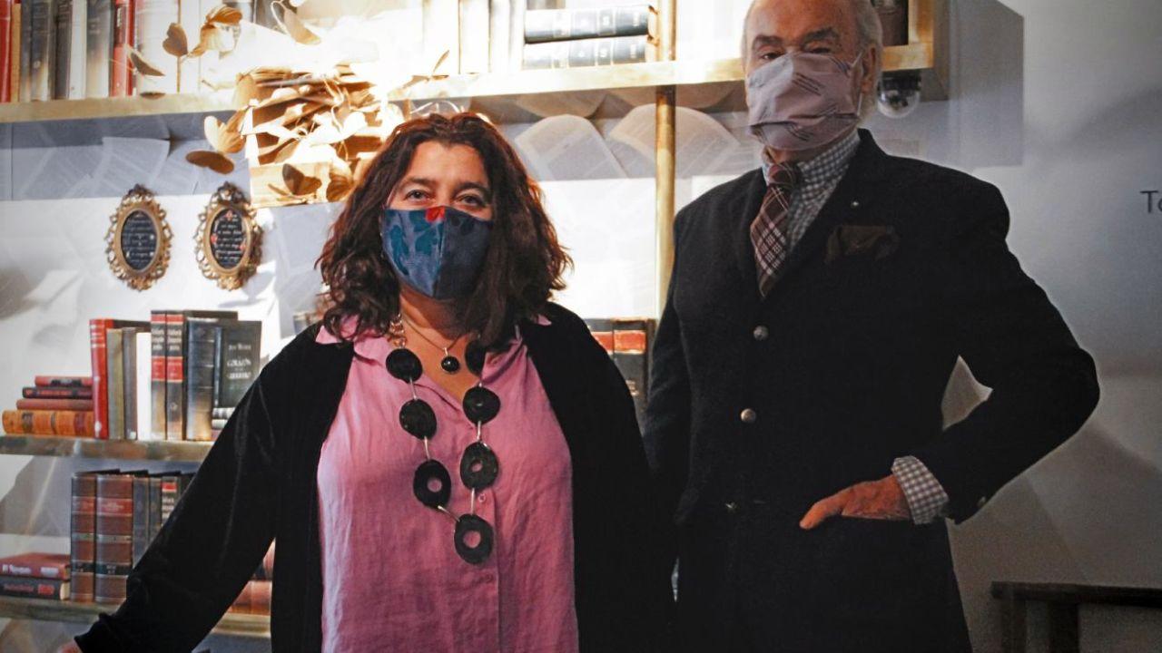 Mariela Ivanier junto a Gino Bogani | Foto:VERBO