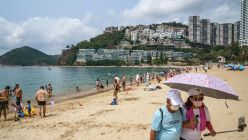 Hong Kong Reopens Pools and Beaches As City Eases Covid Rules
