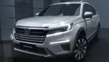 Honda presentó el N7X, un nuevo SUV de siete plazas