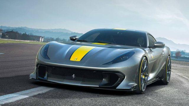 Cómo se llamará la nueva Ferrari basada en la 812 Superfast