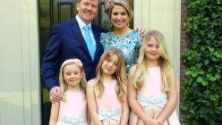 Máxima de Holanda y sus hijas