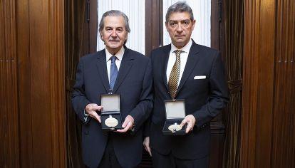 Juan Carlos Maqueda y Horacio Rosatti