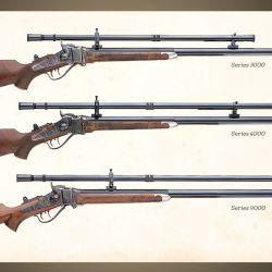 La firma Montana Vintage Arms fabrica réplicas de miras antiguas que varían de 6 a 20 aumentos, para los aficionados  a lo clásico.