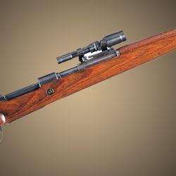 En la década del '40 los alemanes se adelantaban al concepto Scout, de Jeff Cooper, con su mira ZF41 para el Mauser K98.